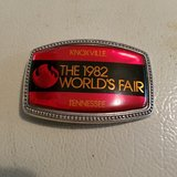 1982 World's Fair belt buckle in Fort Knox, Kentucky