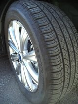 "18"" Alloy Rims & Tires 5x108 in Ramstein, Germany"