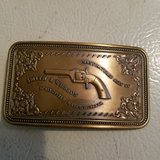 Smith & Wesson belt buckle in Fort Knox, Kentucky