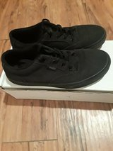 Boys Vans Sz. 4.5 Black on Black in Kingwood, Texas
