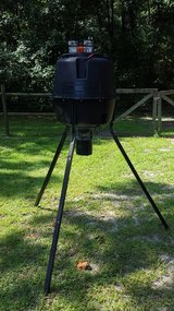 Moultrie Game feeder w batteries in Camp Lejeune, North Carolina