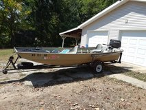 40 horse Suzuki jet 1648 Lowe boat in Fort Leonard Wood, Missouri