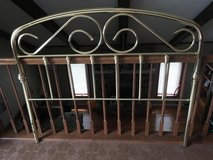 Solid Brass Headboard for Queen Bed in Lockport, Illinois