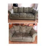 microfiber couch & loveseat in Wheaton, Illinois