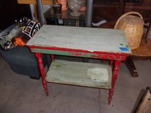 Vintage Table in Fort Riley, Kansas