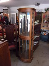 Oval Glass Front Display Cabinet in Fort Riley, Kansas