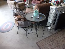 Soda Fountain Table and Two Chairs Set in Fort Riley, Kansas