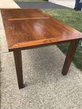 Solid Wood Dining Table in Lockport, Illinois