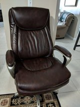 LazyBoy Large & Tall Executive Leather chair in Eglin AFB, Florida