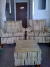 """Arm Chairs (""""His & Hers"""") & Ottoman in Byron, Georgia"""