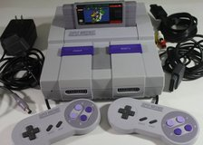 SNES system, 51 games, 3 controllers in Dothan, Alabama