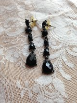 Chico's black costume jewelry earrings in The Woodlands, Texas