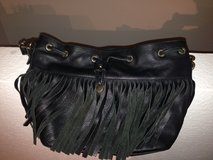 Leather black purse in Ramstein, Germany