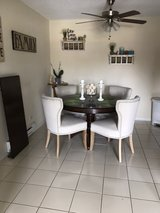 Pier One dining table & 4 chairs in New Lenox, Illinois