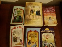 6 David Eddings Sci Fi Science Fiction Novels Dragons Hobbits Fantasy Comic Witch Warlock in Kingwood, Texas