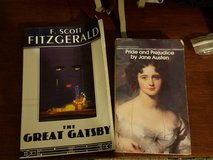 3 Classics Pride Prejudice Gatsby Wuthering heights Paperback Ready Romance Roaring in Kingwood, Texas