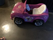 Disney princess car needs new battery in Naperville, Illinois