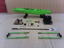 Ascend Fising Kayak 10T Pre-rigged! Invested $1,200 yours for only $800.00 cash!!! in Lawton, Oklahoma