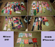 3T Lot of Girls Clothes (248 pieces!) in Fort Leonard Wood, Missouri