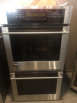 GE monogram stainless steel double oven in Kingwood, Texas