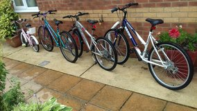 BIKES for sale @ LAKENHEATH in Lakenheath, UK
