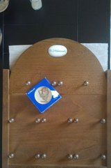 Mini Hummel collective plate and wooden holder in Baumholder, GE