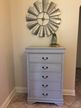 Beautiful gray dresser in Leesville, Louisiana