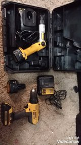 $150 WOW DeWalt DRILL driver and chargers and four batteries like new in Manhattan, Kansas