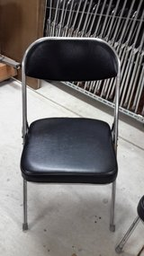 Folding Chairs, Sturdy High Quality (all 56 for $200) in Okinawa, Japan