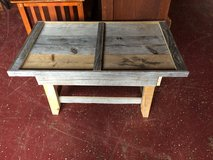 Small Farmhouse Solid Wood Coffee Table (hidden Drawer) in Leesville, Louisiana