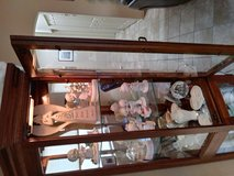 Beautiful lighted curio cabinet in Yuma, Arizona