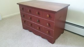 Wooden chest in Oswego, Illinois