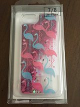 Iphone7/8 flamingo liquid glitter case in Camp Lejeune, North Carolina
