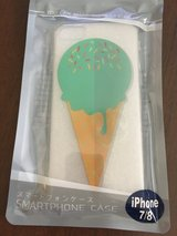 Iphone7/8 icecream rubber case in Camp Lejeune, North Carolina