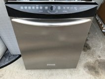 Frigidaire stainless dishwasher in The Woodlands, Texas