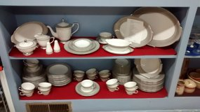China Dishes - Platina Pattern by Sango in Oswego, Illinois