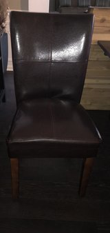 2 LEATHER LIKE DINING CHAIRS in St. Charles, Illinois