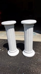 Two columns/pillars in Joliet, Illinois