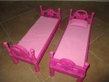 "Pink Beds for 18"" Dolls - Pink in Kingwood, Texas"