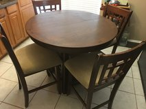 Counter Height Table Set in Kingwood, Texas