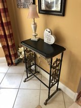 Adorable Wrought Iron Side Table! in Bolingbrook, Illinois
