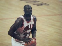 3 Professional Photos of Michael Jordan Playing Basketball for The Chicago Bulls in Naperville, Illinois