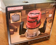 Craftsman 1.5HP Router (New) in Naperville, Illinois