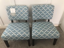 Set of 2 brand new sitting chairs in Oswego, New York