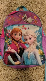 Frozen backpack, like new! in Plainfield, Illinois