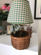 Basket Lamp in Wilmington, North Carolina