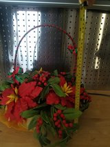 Christmas flowers with basket in Okinawa, Japan