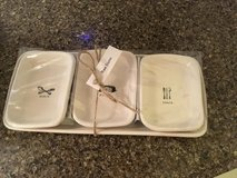 RAE Dunn Pottery Tray & 3 dishes in Fort Leonard Wood, Missouri