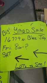 Garage sale in The Woodlands, Texas