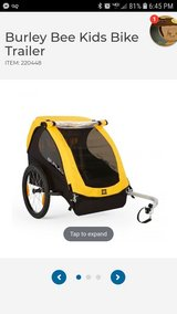 Burley Bee kids bike trailer 2 seater in Watertown, New York